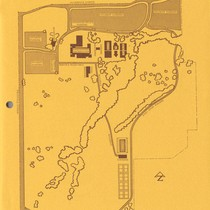 Map of West Valley College, Saratoga campus, Fall 1968