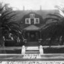 12-25-1912, Home of E. W. Spaulding, Inglewood, Cal