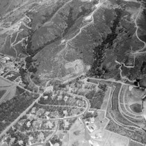 Aerial photograph from Fire Department