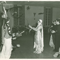 Beaux arts ball at CCAC, 1952; Ruby Young, center