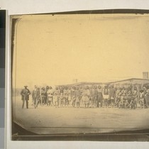 Group of Indian chiefs and others, Fort Mojave