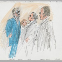 1/28/76 U.S. Attorney James Browning, Catherine Hearst, F. Lee Bailey, Randolph Hearst