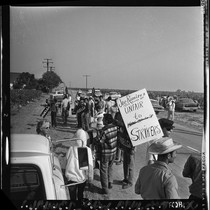 United Farm Worker's strike in Delano (Calif.)