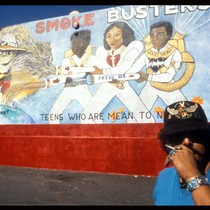 "American Heart Association ""Smoke Busters"" Mural"
