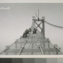 Pier #4, Towers #3, 5, W5; Guy Derrick, Catwalks, San Francisco Anchorage, ...
