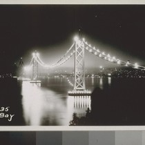 Anchorages Yerba Buena, San Francisco, Center; Cables, Yerba Buena Viaduct, West Bay, ...