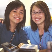 Rochelle Dela Cruz, RN and Kelly Tom, RN
