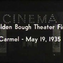 Fire at the Golden Bough Theater, May 19, 1935