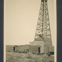 [California Counties Oil Company derrick]