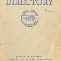 Palm Springs Telephone Directory