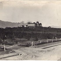 First Raymond Hotel on Hill; Looking Northeast