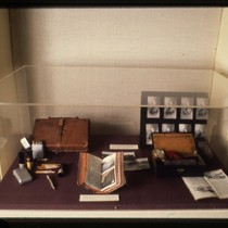 UCSF Origins of Excellence exhibit World War I medical artifacts