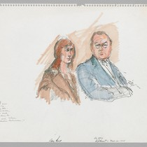 11/10/75 Patty Hearst, Defense Attorney Al Johnson, Jr