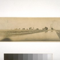Main irrigation ditch - Fair Ranch, Yolo Co. [county] 1916, Rice Field