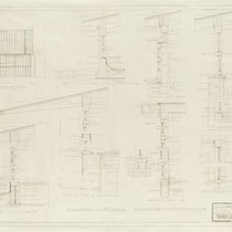 Drawing, Edward H. Fickett Residence, 1948