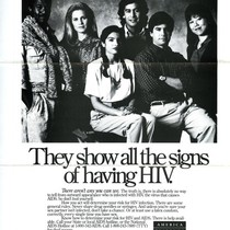 America Responds to AIDS advertisement - They show all the signs of ...