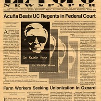 """Acuña Beats UC Regents in Federal Court"""