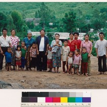 Hmong family group