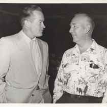 Bill Henry with Bob Hope