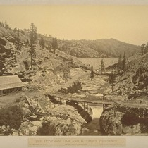 The Bowman Dam and Keeper's Residence, Nevada County, California