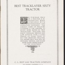 Best Tracklayer Sixty Tractor San Leandro, California