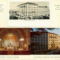 Promotional cards for St. Joseph's Hospital, San Francisco