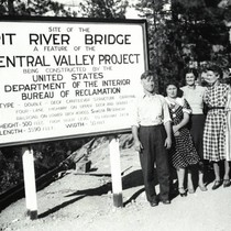 Group Photo at Pit River Bridge