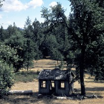 Abandoned shack on Tuolumne Rancheria