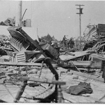Devastation of the 1906 earthquake