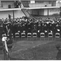 1968 Commencement on Watt Campus