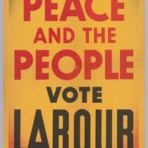 For Peace and the People vote Labour