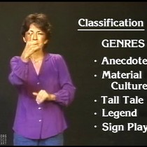 "1984 ""Deaf Folklore"" American Culture: The Deaf Perspective, Ep. 2/4"