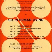 Postcard, Jake Gimbel Sex Psychology Lectures