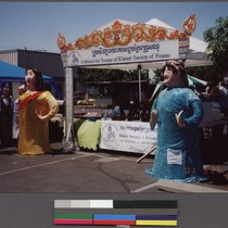 Khmer Society of Fresno Refugee Day booth