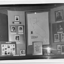 Capwell's Department Store California Negro History Week exhibit