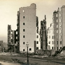 Charlemagne Apartments, San Francisco Earthquake and Fire, 1906 [photograph]