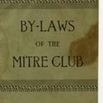 By-Laws of the Mitre Club