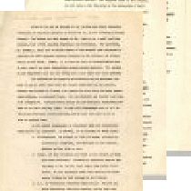 Article draft addressed to M. Horton, editor CLA Bulletin, February 11, 1946