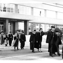 Academic procession from UC San Francisco Medical Sciences Building