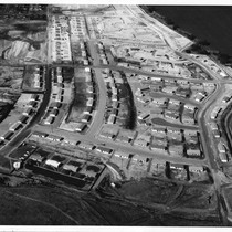 Aerial View of Eaton Square construction
