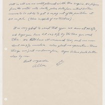 Allan [?] to Abner Doble, Jan 22 1953, page 2, Jan. 22, ...
