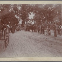 Bicycle racing, ca. 1905