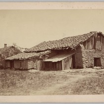 Old Adobes In Santa Clara, ca. 1910