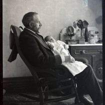 Barton Dozier with son Robert