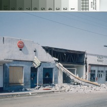 Arvin businesses after 1952 earthquake