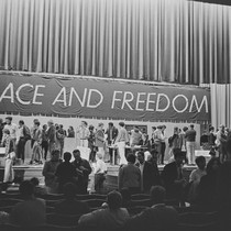 Balloting at the Peace and Freedom Party State Convention, when Eldridge Cleaver ...