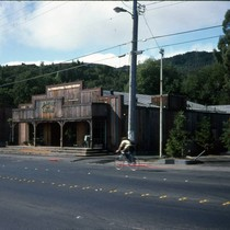 Black Oak Saloon, Larkspur, 1976 [photograph]