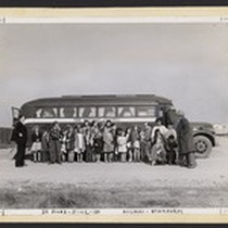 1948 Wayside Chapel Bus with Sunday School Class and Mobile Minister