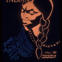 American Indian, Announcement Poster for