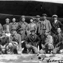 15 student pilots, with plane